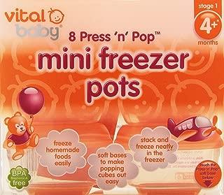 vital baby freezer pots