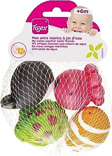 TIGEX juguete baño mis amigos marinos 1 ud