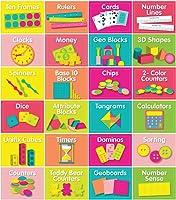 Schoolgirl Style   Just Teach Math Supply Labels & Organizers   Printable