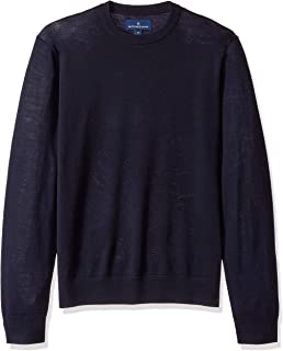 Buttoned Down mens Italian Merino Cashwool Crewneck Sweater
