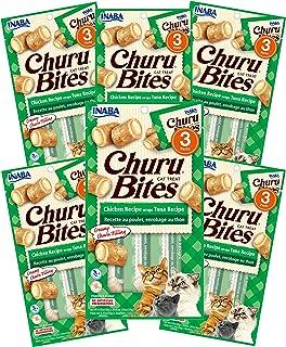 INABA Churu Bites Chicken Recipe Wraps Tuna 6 Packs, 30 Grams (PKUSA721B)