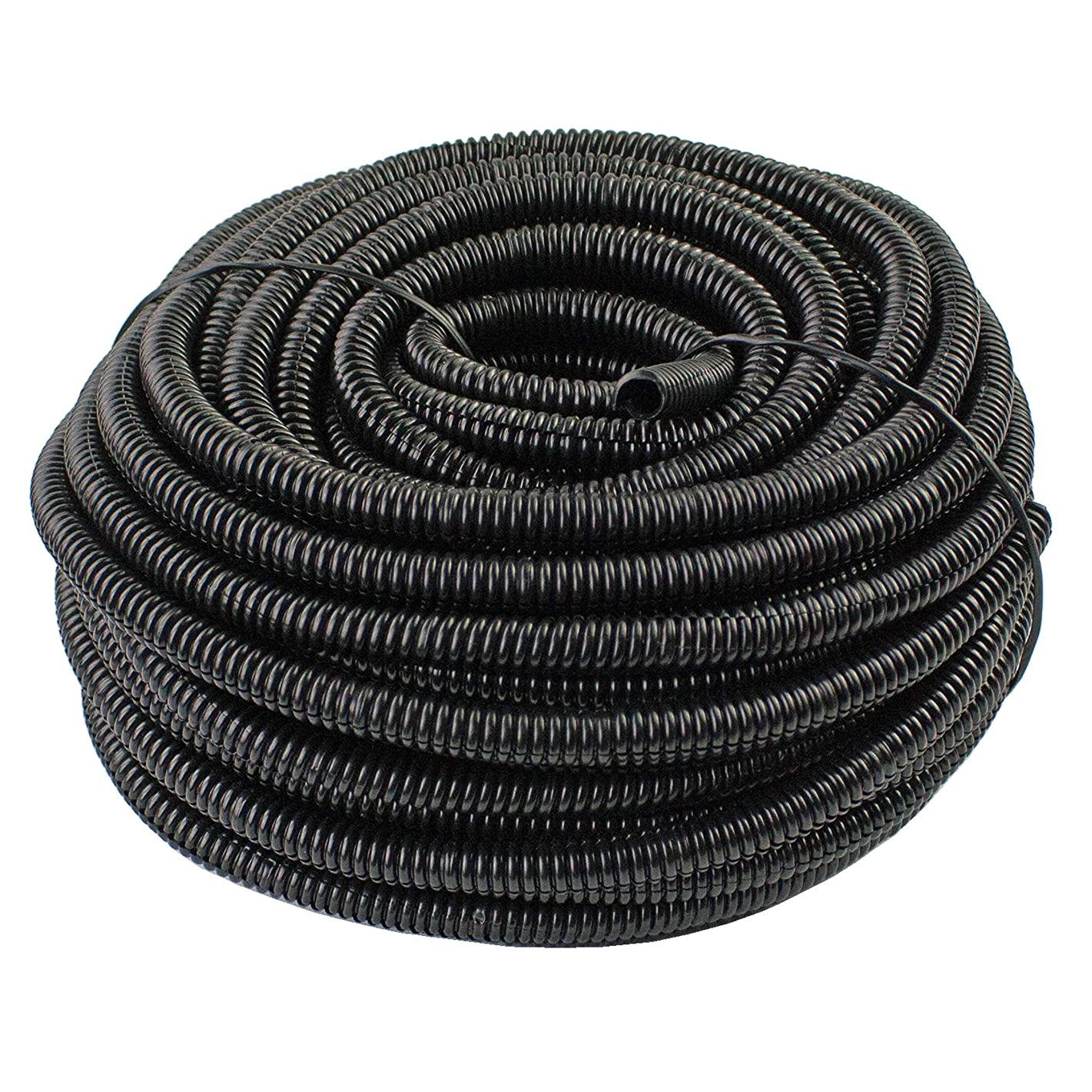 5 FT - 100 FT | Split Loom TUBING - Polyethylene/High Temperature/Electrical Conduit (Size: 1/8