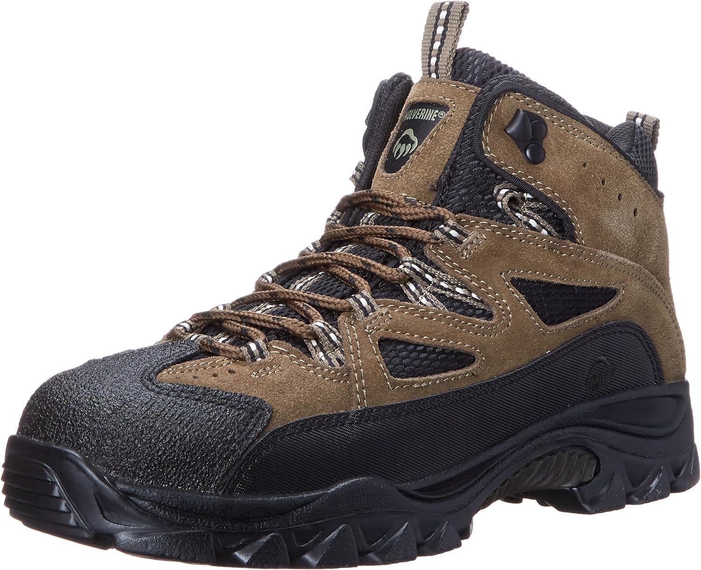 Wolverine w05107Herren Fulton mid-Cut Hiker Heckenschere schwarz Stiefel Schuhe