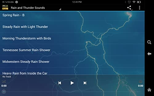 『Epic Rain & Thunder Sounds - with featured ebook: Basic Weather Spotters' Field Guide』の10枚目の画像