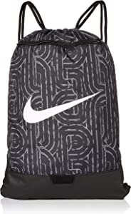 Nike Nike Brasilia Gym Sack - 9.0 All Over Print, Black/Black/White, Misc