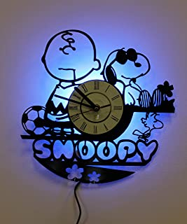 NICE STUFF ONLY Peanuts Snoopy Wall Lamp, Night Light Function, Original Decor, Idea for His and Her