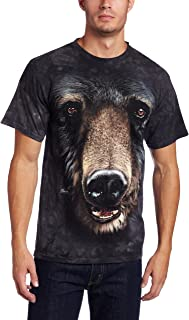 bear face t shirt