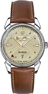 [クエルボ・イ・ソブリノス]Cuervo y Sobrinos 135周年記念モデル世界限定882本 腕時計 紳士用 HISTORIADOR TRADICION ヒストリアドール トラディション 3195-1TR-C メンズ 【正規輸入品】