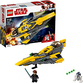 LEGO Star Wars: The Clone Wars Anakin's Jedi Starfighter 75214 Playset Toy