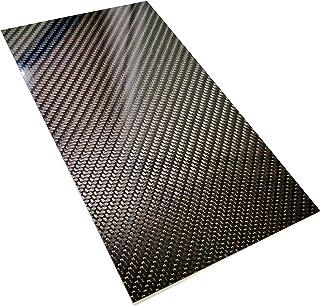 Lastra in fibra di carbonio twill ad alta durezza Materiale in lamiera di lastra in fibra di carbonio con superficie lucida brillante 200 * 300 * 0.5mm
