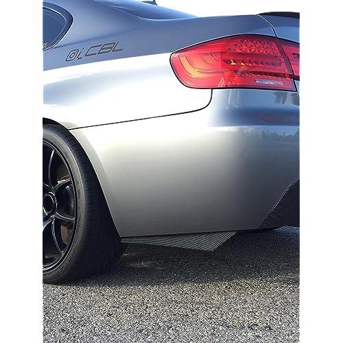 Rear Bumper Splitters extension fits BMW CF M3 335i 340i 328i E92 E90 E93 F30 F80