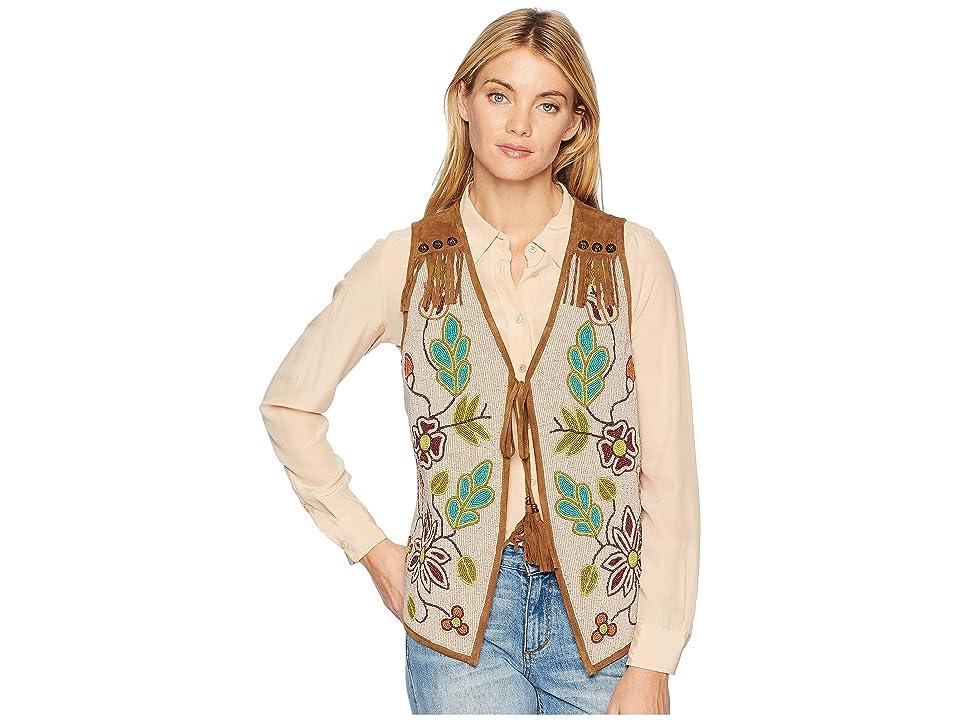 Double D Ranchwear - Double D Ranchwear Cherokee Rose Vest