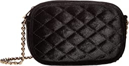Jessica McClintock - Audrey Quilted Velvet Shoulder Bag