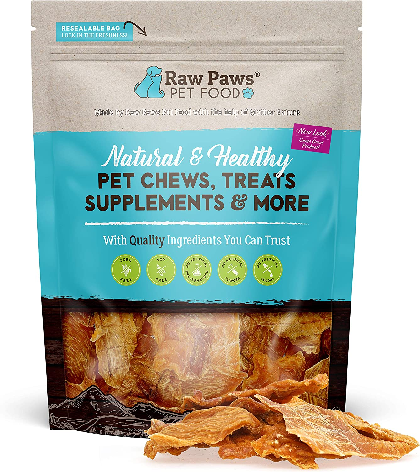 Raw Paws Limited time cheap sale Premium Chicken Luxury Jerky Dog - Natural 16-oz J Treats
