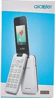 Alcatel 2051D Dual Sim,Metal Sılver (Alcatel Türkiye Garantili)