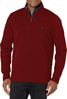 IZOD Men's Advantage Performance Quarter Zip Sweater Fleece Solid Pullover