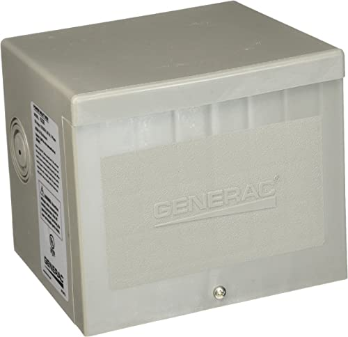 new arrival Generac 6338 outlet online sale 50-Amp 4-Wire outlet online sale 125/250V Raintight Non-Metallic Power Inlet Box online
