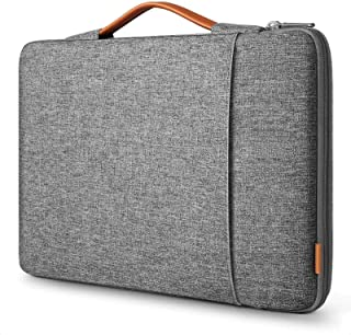 Uppercase T with Big and Small Laptop Sleeve Case Neoprene Carrying Bag for Any Tablet//Notebook AM020955 17 inch//17.3 inch C COABALLA Letter T