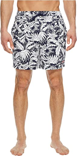 Pineapple in Palms Chappy Swim Trunk