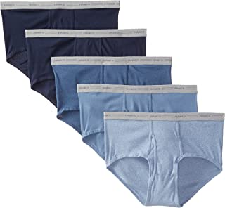 Hanes Men's 5-Pack Big Mid-Rise Waistband Briefs