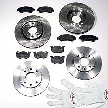 Autoparts-Online Set 60012547 Bremsbel/äge//Bremskl/ötze//Bremsen f/ür vorne hinten
