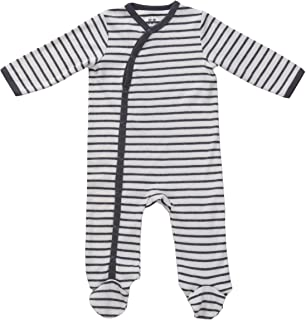 Asher & Olivia Footed Pajamas for Boys with Baby Hat Side Snap Onesies Footies