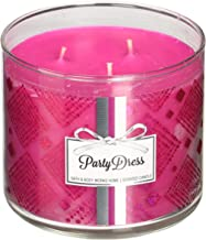Bath & Body Works Candle 3 Wick 14.5 Ounce 2015 Party Dress