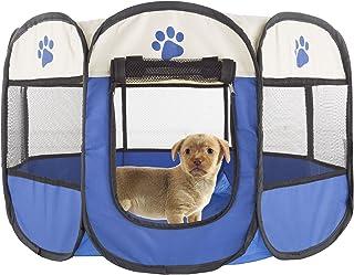 PETMAKER Pet Playpen with Carrying Case 26.5x17 80-PET6081