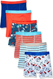 Handcraft Boys Ten28 Boys Cotton 7pk Brief and 6pk Boxer Brief Underwear - Multi