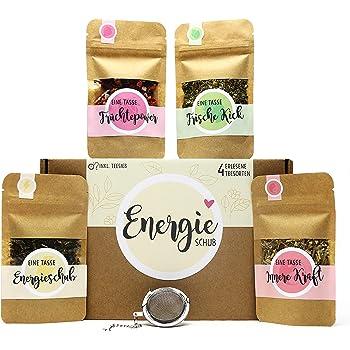 Du Bist Wunderbar Tee Geschenk Set Mit 4 Verschiedene Sorten Tee Ei Und Tasse Mit Namen Personalisiert Geschenkidee Mit Liebevoller Botschaft Amazon De Lebensmittel Getranke