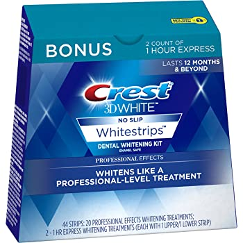 Amazon Com Crest 3d White Professional Effects Whitestrips Teeth