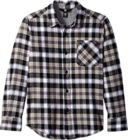 Caden Plaid Long Sleeve Shirt (Big Kids)