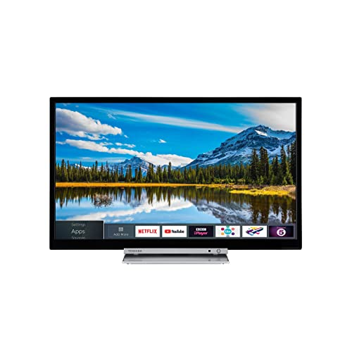 35d2ae00244 Toshiba 32D3863DB 32-Inch HD Ready Smart TV with Freeview Play and Built-In