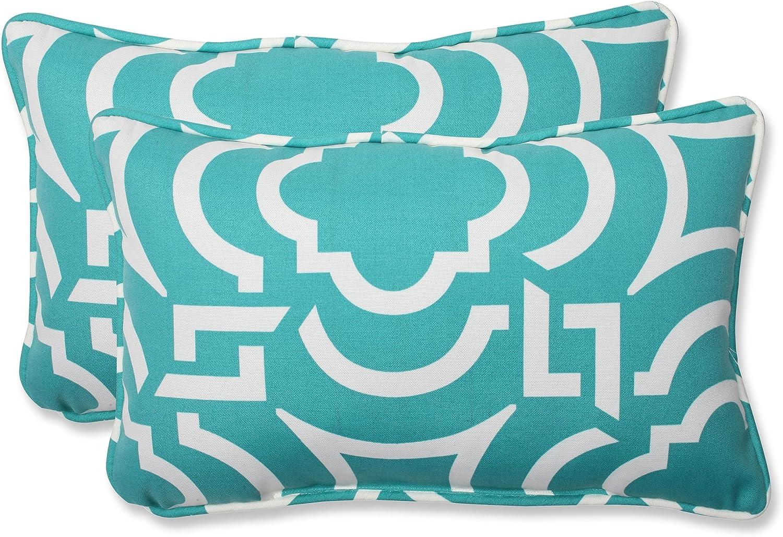 Pillow Perfect Outdoor Carmody Cheap Tulsa Mall mail order specialty store Peacock Throw Rectangular