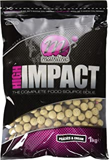 ダイワ  Mainline Baits HIGH IMPACT Peaches&Cream15mm [ハイインパクト ピーチ アンド クリーム]
