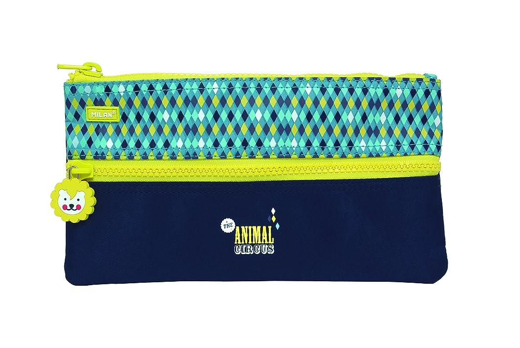Milan Circus Pencil Case, 22 cm, 0.6 Litres, Blue