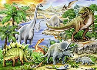 Ravensburger Prehistoric Life 60 Piece Jigsaw Puzzle for Kids – Every Piece is Unique, Pieces Fit Together Perfectly 09621