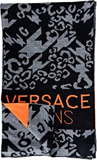 Versace Jeans Unisex Wool Multi-Color Scarf