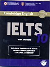 Cambridge IELTS 10 Student's Book with Answers (Book & CD)