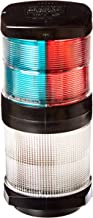 HELLA 002984601 '2984 Series' 12V DC 2 NM Tri-Color Light with White All-Round Anchor Light and Black Housing