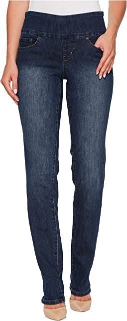 Jag Jeans Peri Pull-On Straight in Anchor Blue
