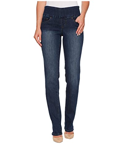 Jag Jeans Peri Pull-On Denim Straight Leg Jeans (Anchor Blue) Women