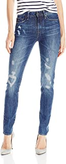 G-Star RAW Women's 3301 Ultra High Rise Skinny Fit Jean in Hadron Stretch Denim