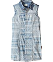 Hudson Kids - Sleeveless Printed Chambray Top (Big Kids)