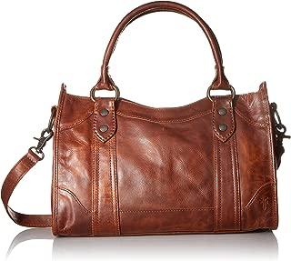 Frye Melissa Zip Satchel Leather Handbag