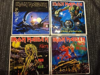 iron maiden coasters
