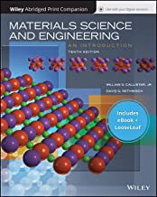 Materials Science and Engineering: An Introduction, 10e EPUB Reg Card and Abridged Print Companion Set