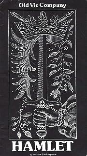 "Derek Jacobi""HAMLET"" Brenda Bruce/Jane Wymark/Julia Glover/Robert Eddison 1979 London Old Vic Playbill"