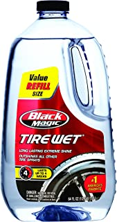 Black Magic 120011 Tire Wet Trigger Spray Refill - 64 oz