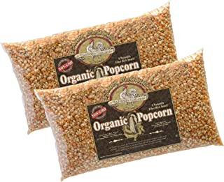 4000 Great Northern Popcorn 2-Pack Organic Yellow Gourmet Popcorn 5 LB All Natural